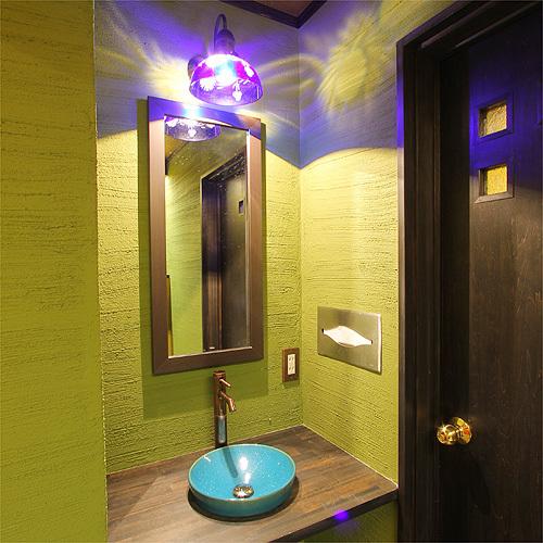 館内のご紹介★1Fの洗面スペース
