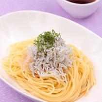 【しらす&大根おろしのパスタ】紫蘇の良い香りに、お箸が止まらない…!和風ソースの量はお好みで