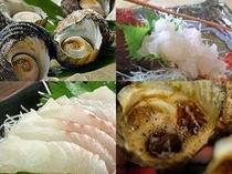 ★新鮮な魚介類