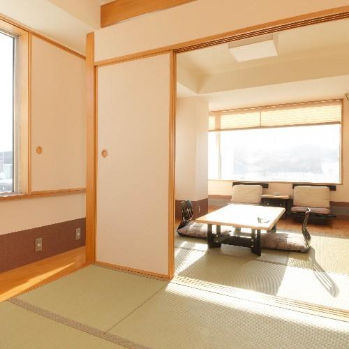 【楽天】しらかば館4.5畳+4.5畳