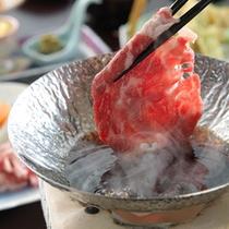 ◆「四季彩膳」すき焼きアップ