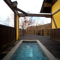 【三村の棟】客室露天風呂