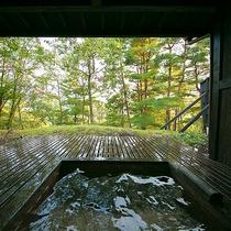 【朝倉の棟】客室露天風呂