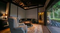 【特別室】茶室のある特別室。