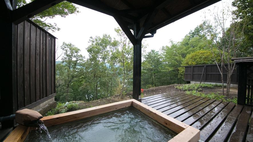 【木部の棟】客室露天風呂