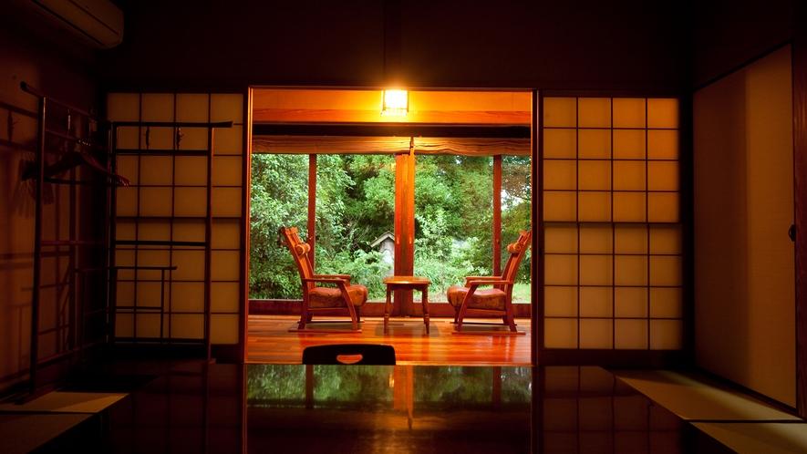 【旅籠の棟】部屋からの眺め