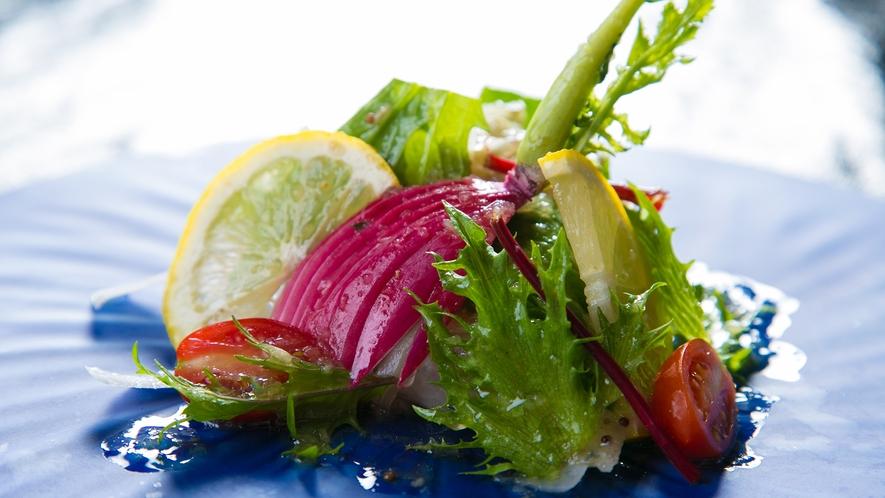 竹田直入産の新鮮な野菜