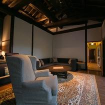 【山水の棟】茶室のある特別室。