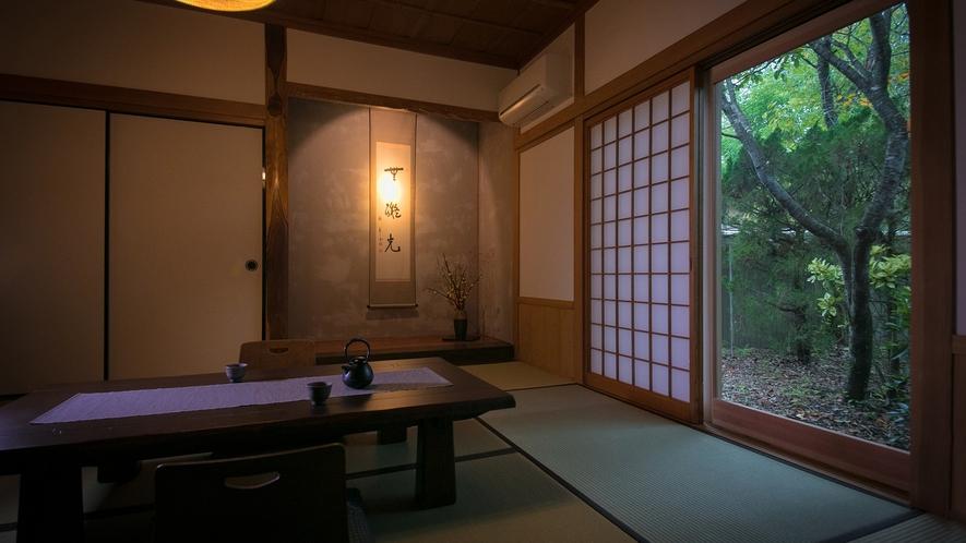 【お部屋一例】竹がふんだんに使われた離れ。