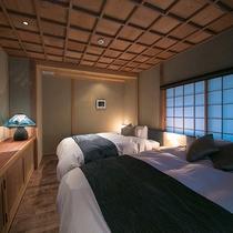 【山水の棟】寝室