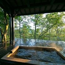 【野崎の棟】客室露天風呂