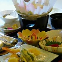 ご夕食例(Aコース/和定食)