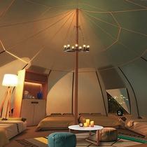 <グランエレメント>【ロータステント】テントタイプの客室♪