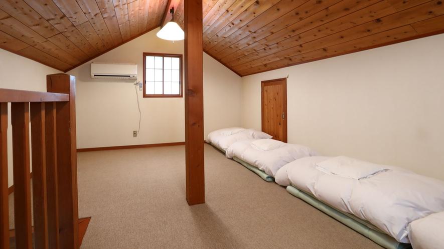 【L棟】寝室(ロフト)