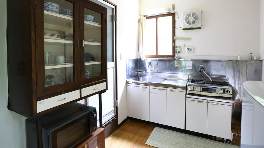 【A棟】明るいキッチンスペース