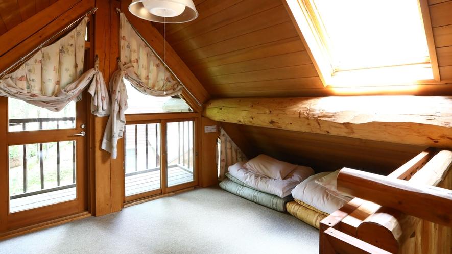 【B棟】寝室(ロフト)