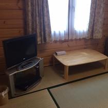 【K棟】和室でゆったりテレビでも