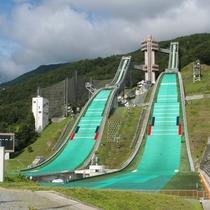 ■グリーンシーズンのジャンプ競技場