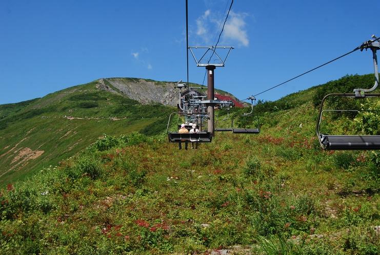 ■八方アルペンライン 標高差1,060mを一気に登り、わずか40分ほどで標高1,830mへ