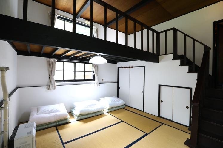 【E棟】メゾネット寝室