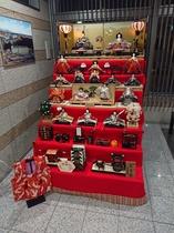 ひな人形七段飾りひな壇