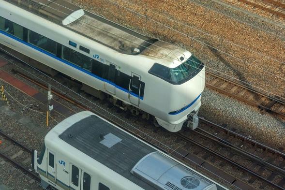 【鉄道ファンは寝不足覚悟】在来線側ビュー確約プラン(素泊まり)