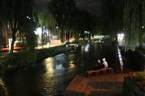 白川 Shirakawa river street