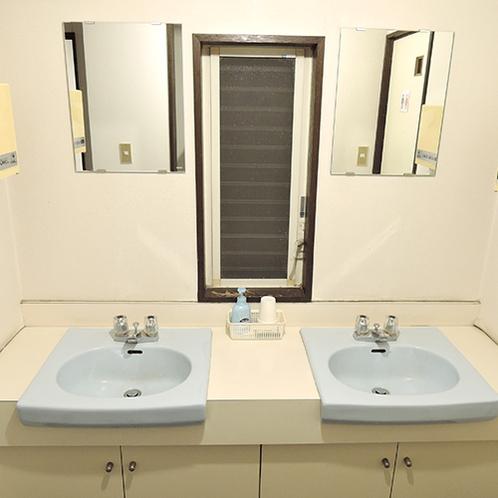 *【共用洗面台】ご自由にご利用いただける洗面台です。