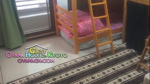 【201号室】1〜4人部屋★2段ベッド×2