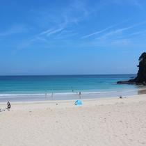 下田のビーチ