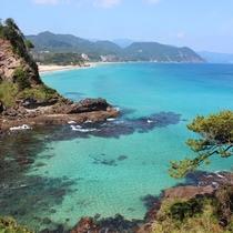 美しい下田の海の景色