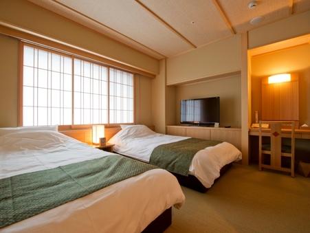 【京和風】和洋スイート<バス付>洋室6畳+和室6畳/35平米