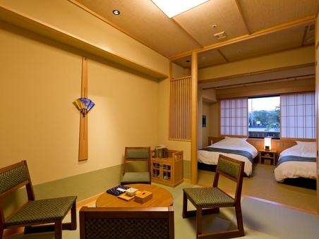 【京和風】和洋室<シャワー付>/30平米(約12畳))
