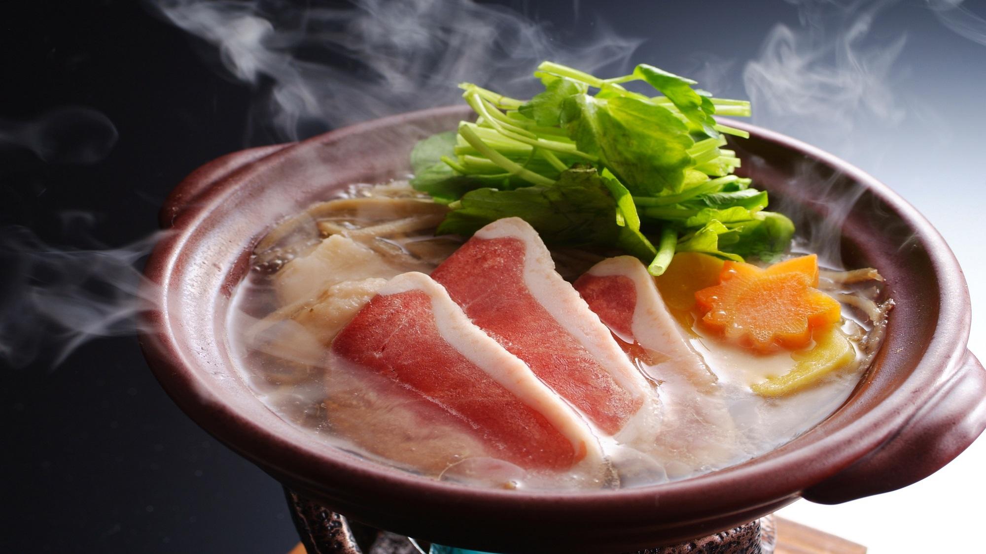 【夕食】合鴨の治部煮