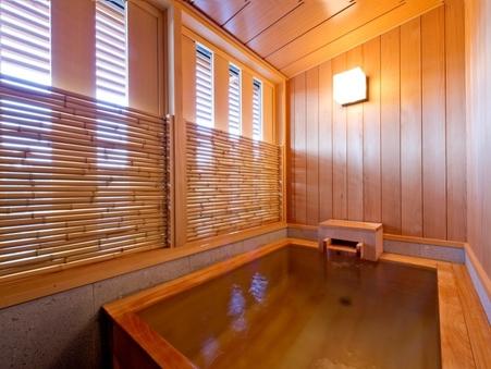 【京町屋】半露天風呂付ツイン<檜風呂付>/30平米