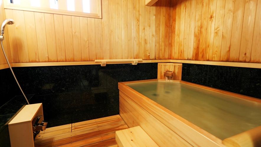 貸切風呂:夢想の湯(檜風呂)