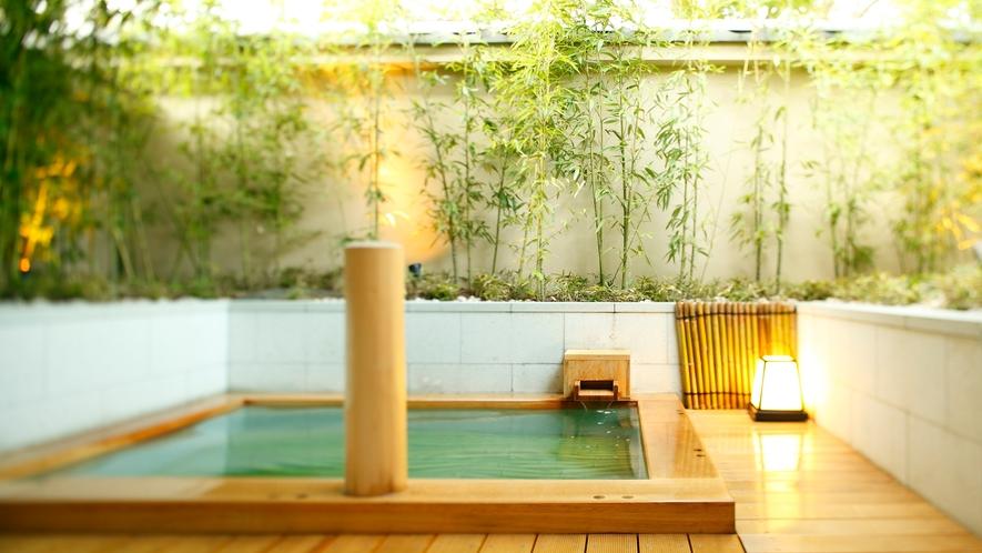 貸切風呂:竹庭の湯(炭酸風呂)