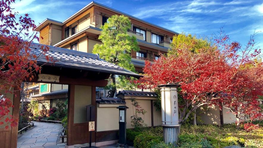 京都の紅葉は11月中旬~12月上旬秋の京都へお越しくださいませ♪