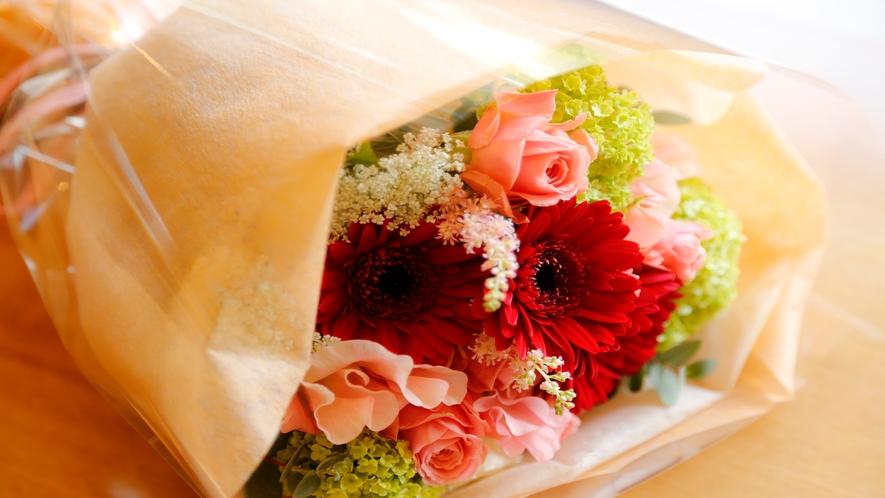 【有料オプション】特別な人へ花束を贈りませんか?(3日前迄のご注文が必要です)