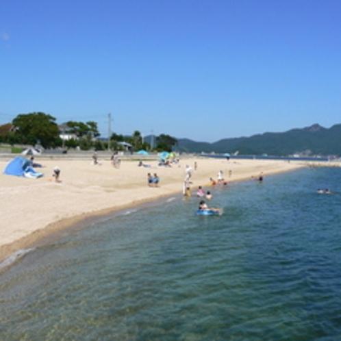 小豆島最大のオリーブビーチ