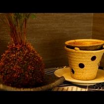 各お部屋でリラックス♪茶香炉をお楽しみください
