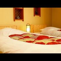 【和室12畳(禁煙)】香りでリラックス♪総ヒノキの布団ベットで良質の睡眠を・・