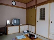和室の6畳間