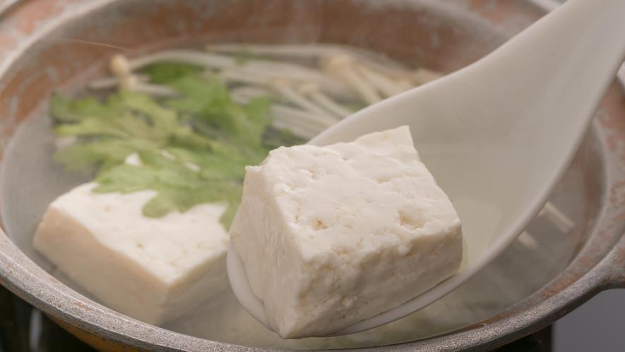 ■朝食◆湯豆腐■