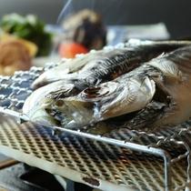 【朝食】焼き魚