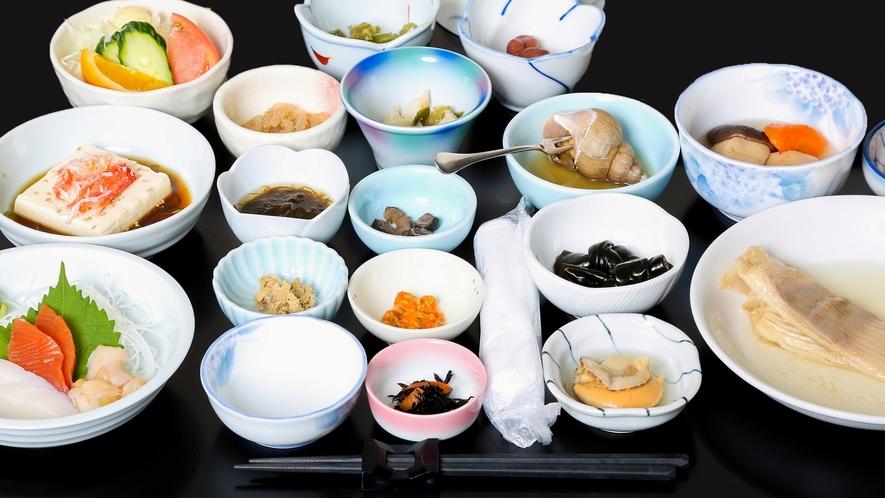 【食事】リーズナブルな夕食で知床旅行を堪能!