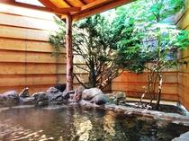 【露天風呂】源泉掛け流しの露天風呂です。