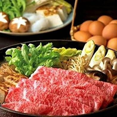 【90分飲み放題付♪】贅沢!和牛すき焼きが付いた料理長おすすめプラン(*^_^*)