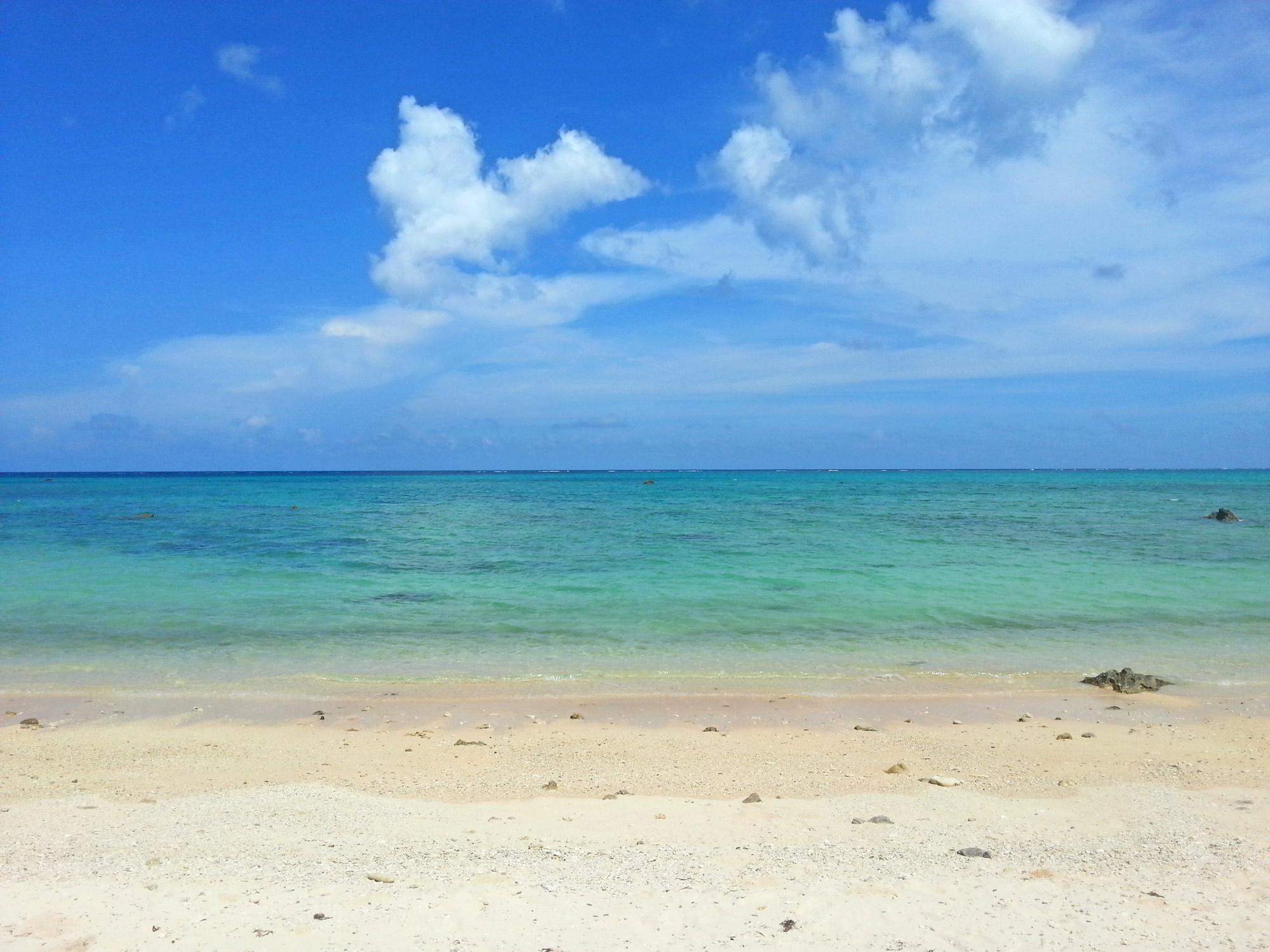 【石垣の青い海】3