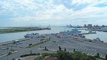 【離島ターミナル】西表や波照間などの離島行フェリー乗場はすぐそこ!2